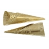 Cones Embossed 64mm Aluminum Brass Tulip Pow Wow Pattern